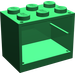 LEGO Green Cupboard 2 x 3 x 2 with Solid Studs (4532)