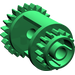 LEGO Green Differential Gear Casing