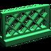 LEGO Green Fence Lattice 1 x 4 x 2 (3185)
