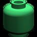 LEGO Green Plain Head (Recessed Solid Stud) (3626)