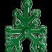LEGO Green Plant Leaves 6 x 5 (2417)