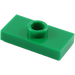 LEGO Green Plate 1 x 2 with 1 Stud (without Bottom Groove) (3794)