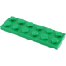 LEGO Green Plate 2 x 6 (3795)