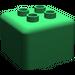 LEGO Green Primo Brick 1 x 1 with 4 Duplo Studs (31007)
