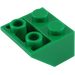 LEGO Green Slope 2 x 2 (45°) Inverted (3660)