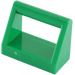 LEGO Green Tile 1 x 2 with Handle (2432)