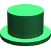 LEGO Green Top Hat (88412)