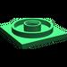 LEGO Green Turntable 4 x 4 Base