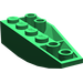LEGO Green Wedge 2 x 6 Double Inverted Left