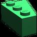 LEGO Green Wedge 3 x 2 Left (6565)