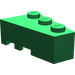 LEGO Green Wedge 3 x 2 Right (6564)