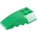 LEGO Green Wedge 6 x 4 Triple Curved (43712)