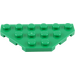 LEGO Green Wedge Plate 3 x 6 with 45º Corners (2419)