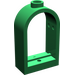 LEGO Green Window 1 x 2 x 2.667 with Rounded Top (30044)