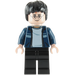 LEGO Harry Potter with Blue Jacket and Black Legs Minifigure