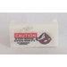 LEGO Hinge 1 x 2 Base with Ghostbusters Logo, 'CAUTION' and 'STAY BACK OVER 500 FT' Sticker