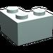 LEGO Light Aqua Brick 2 x 2 Corner (2357)