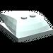 LEGO Light Aqua Wedge 6 x 4 x 1.333 with 4 x 4 Base (93591)