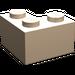 LEGO Light Flesh Brick 2 x 2 Corner (2357)
