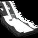 LEGO Light Gray Arm Piece Grab Jaw (4221)
