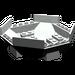 LEGO Light Gray Cockpit 10 x 10 x 4 Octagonal Base (2618)