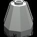 LEGO Light Gray Cone 2 x 2 x 1 & 2/3 Octagonal (6039)