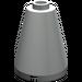 LEGO Light Gray Cone 2 x 2 x 2 (Safety Stud) (3942)