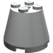 LEGO Light Gray Cone 3 x 3 x 2 with Axle Hole (6233)