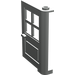 LEGO Light Gray Door 1 x 4 x 5 with 4 Panes (3861)
