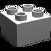 LEGO Light Gray Duplo Brick 2 x 2 (3437)