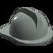 LEGO Light Gray Fire Helmet