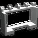 LEGO Light Gray Hinge Car Roof Holder 1 x 4 x 2 (4214)