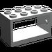 LEGO Light Gray Hose Reel 2 x 4 x 2 Holder (4209)