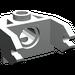 LEGO Light Gray Magnet Holder 2 x 3 (2607)