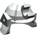 LEGO Light Gray Minifig Helmet Samurai (30175)