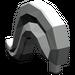 LEGO Light Gray Minifig Plume Medium (4502)