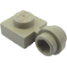LEGO Light Gray Plate 1 x 1 with Clip (Thin Ring) (4081)