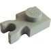LEGO Light Gray Plate 1 x 1 with Vertical Clip (Thick 'U' Clip) (4085)