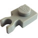 LEGO Light Gray Plate 1 x 1 with Vertical Clip (Thin 'U' Clip) (4085)