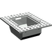 LEGO Light Gray Plate 10 x 12 with 6 x 8 Recess