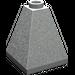 LEGO Light Gray Slope 2 x 2 x 2 (75°) Quadruple