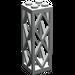 LEGO Light Gray Support 2 x 2 x 5 Lattice Pillar (Complete)