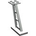 LEGO Light Gray Support 2 x 4 x 5 Stanchion Inclined with Thick Supports (4476)
