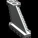 LEGO Light Gray Tail 4 x 1 x 3 (2340)