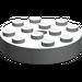 LEGO Light Gray Turntable 4 x 4 Top (Non-Locking) (3404)
