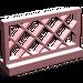 LEGO Light Pink Fence Lattice 1 x 4 x 2