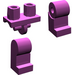 LEGO Light Purple Minifigure Hips and Legs