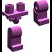 LEGO Light Purple Minifigure Hips and Legs