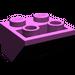 LEGO Light Purple Slope 45° 2 x 2 Inverted (3660)