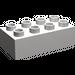 LEGO Light Stone Gray Duplo Brick 2 x 4 (3011)